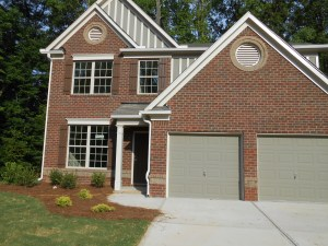 Moore Approved Home Atlanta Area Traditional Red Brick Front