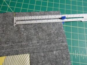 Marking tote bag handles