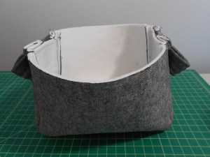 Fabric Basket Sewn Exterior