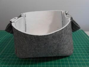 Fabric Basket Sewn Exterior