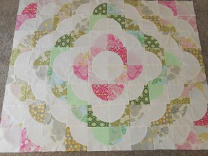 Jennifer's Medallion Quilt (pattern from A Quilter's Mixology by Angela Pingel)