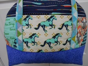 Aeroplane Bag Sew Sweetness Cotton and Steel Closeup mustang
