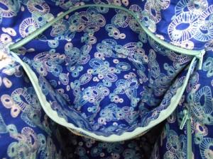 Aeroplane Bag Sew Sweetness lining zipper pocket