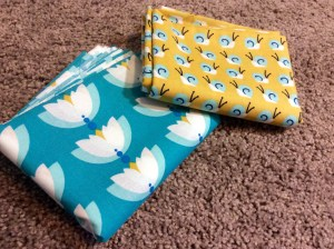 Cloud 9 Lotus Fabric prints modern stash