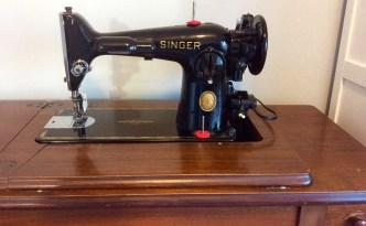 Craft room singer 201 2 vintage sewing machine