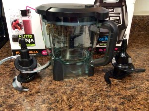 Ninja 1500 watt mega kitchen system box blender short container