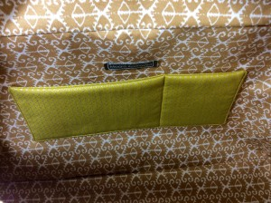 Noodlehead cargo duffle pattern bag lining