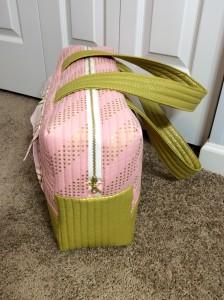 Noodlehead Cargo Duffle pattern bag side