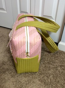Noodlehead Cargo Duffle pattern bag side