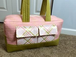 Noodlehead Cargo Duffle pattern bag wide