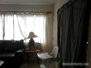 Moore Approved St Petersburg House Living Room Door Before