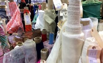 Original Sewing and Quilting Expo Atlanta Gwinnett Center Vogue fabrics bolts