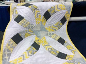 Original Sewing and Quilting Expo Atlanta Gwinnett Center sample quilt Handi Quilter