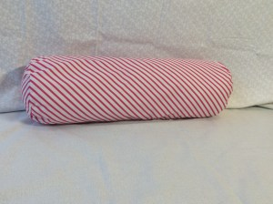 Fantasia fabric unicorn throw pillows bolster pillow cushion monokeros stripe candy front