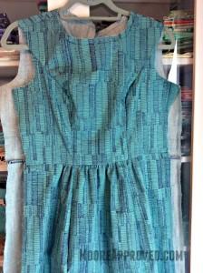 Moore Approved Carolyn Friedlander Doe Dress Simplicity 1652 Robert Kaufman Fabric medium shot