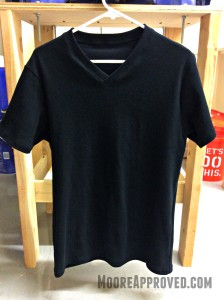 Jalie Tshirt Pattern 2918 Black Rib Knit Fabric Version