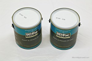 Moore Approved Behr Premium Plus Exterior Paint Primer Satin Enamel White