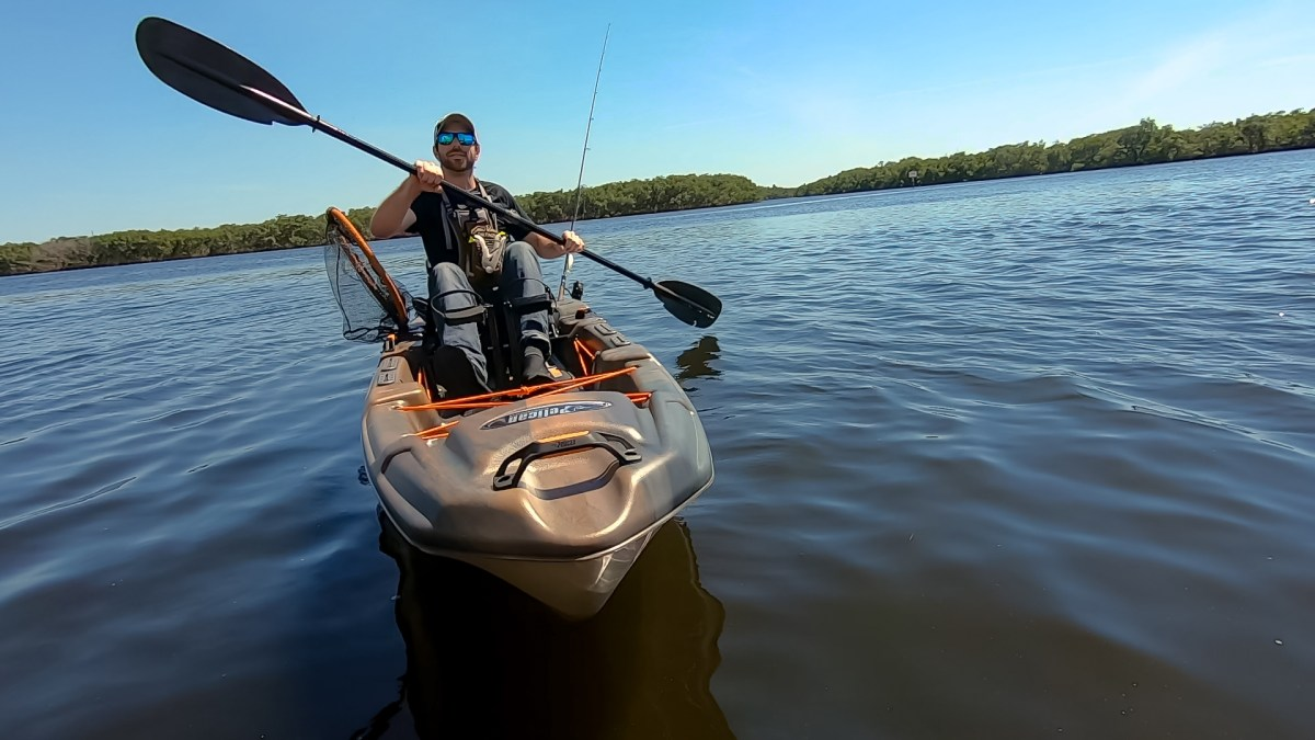 Pelican Catch 130 Hydryve| Affordable Pedal Drive Kayak