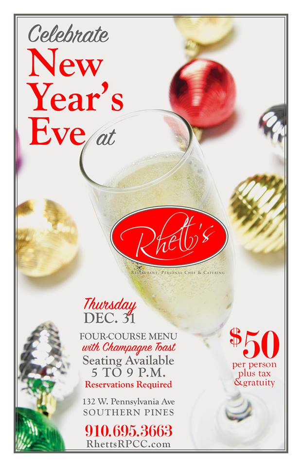 rhetts southern pines new year's eve