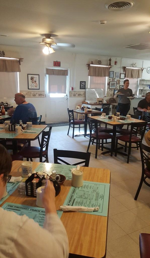 pinehurst track restaurant breakfast