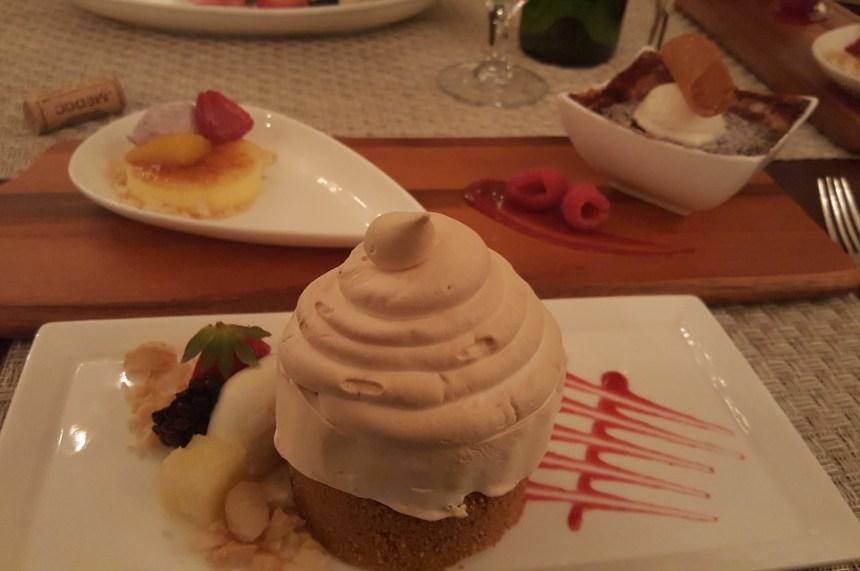 carolina dining room dessert
