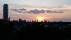 Uptown Houston Sunset