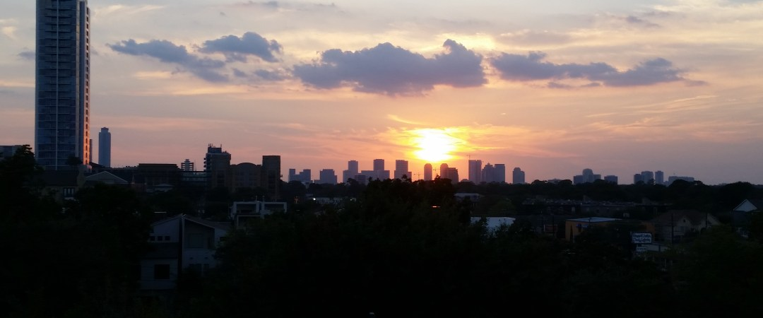 Uptown Houston Sunset