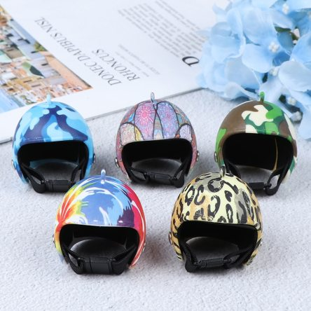 Miniature Helmet with Design Doll Crafting Accessory