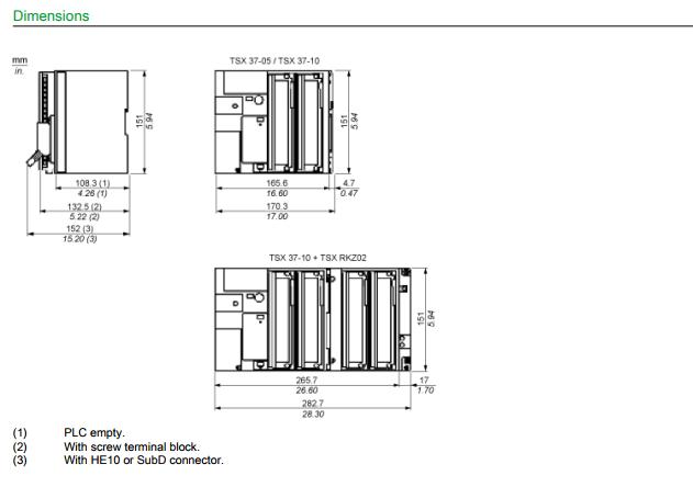 TSX3710164DTK1 Schneider Telemecanique Tsx Micro 37 10 Plc