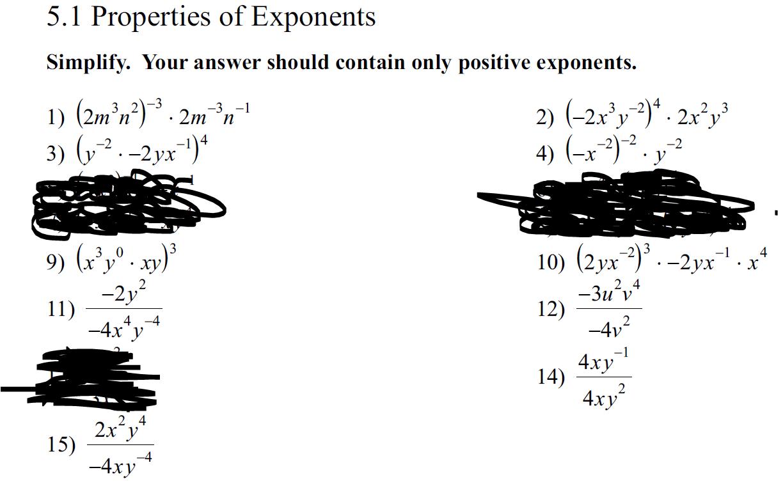 Lohn, Matthew / SEMESTER 1: Algebra 2 Notes & Assignments