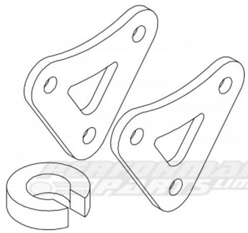 Triumph TT600 00-02 HyperPro Lowering Kit