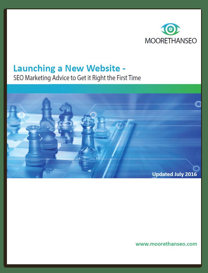 Shows cover of SEO Website Design white paper