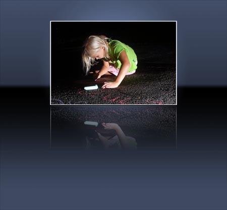 Adobe Photoshop Action Spiegeling Anne Marie