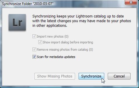 Adobe Photoshop Lightroom Synchronisatie Mappen Mappenstructuur Folders