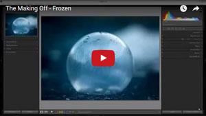 Frozen - the making - Bewerking in Lightroom