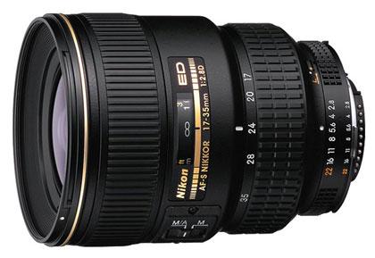 Nikkor groothoek zoom 17-35mm lens