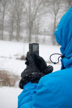 Winter Sneeuw Fotograferen Moor Fotografie