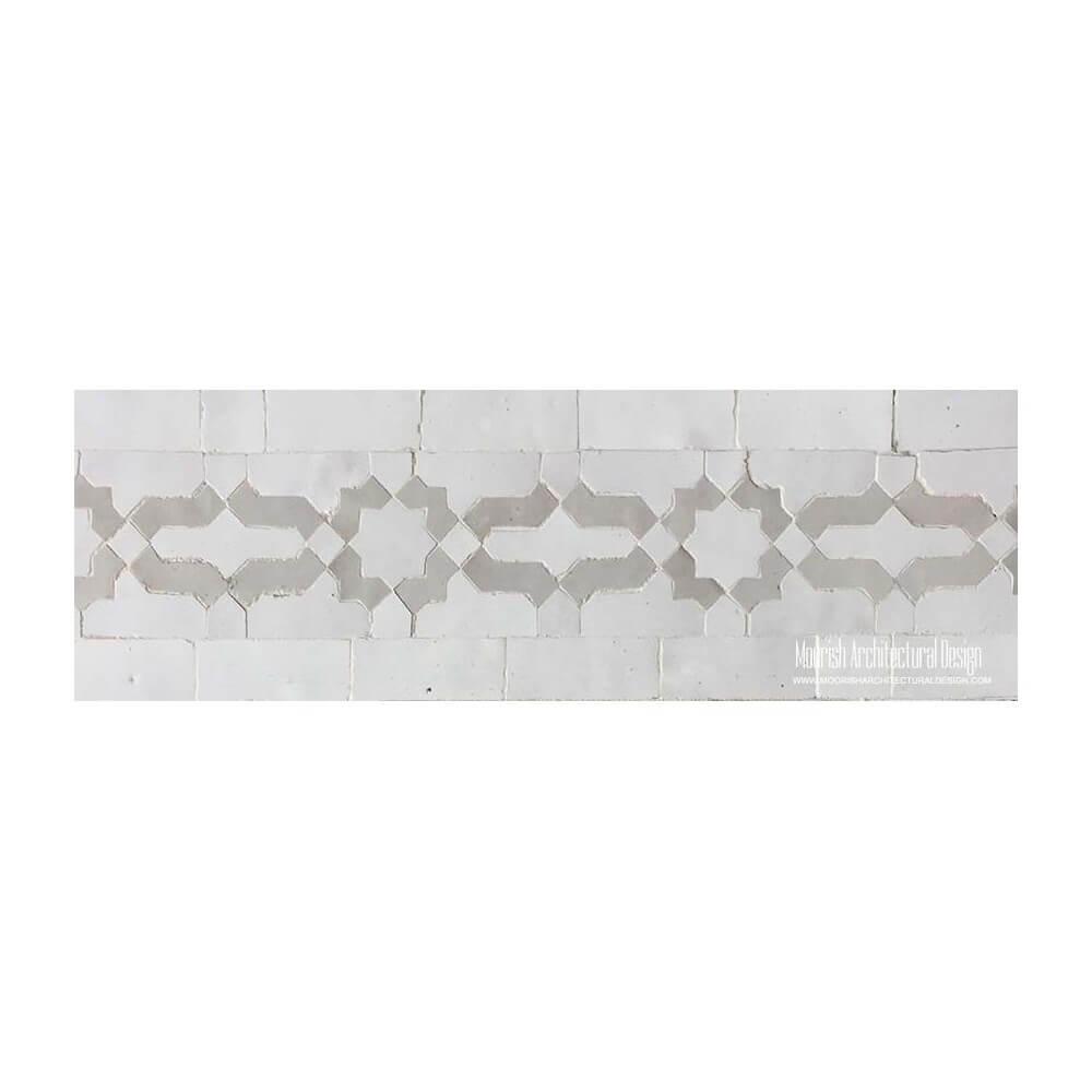 moroccan pool tiles waterline tile