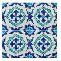Tunisian Tiles: Mediterranean Pool Tiles   Pool Waterline ...
