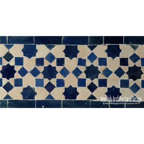 moroccan waterline pool tiles los angeles