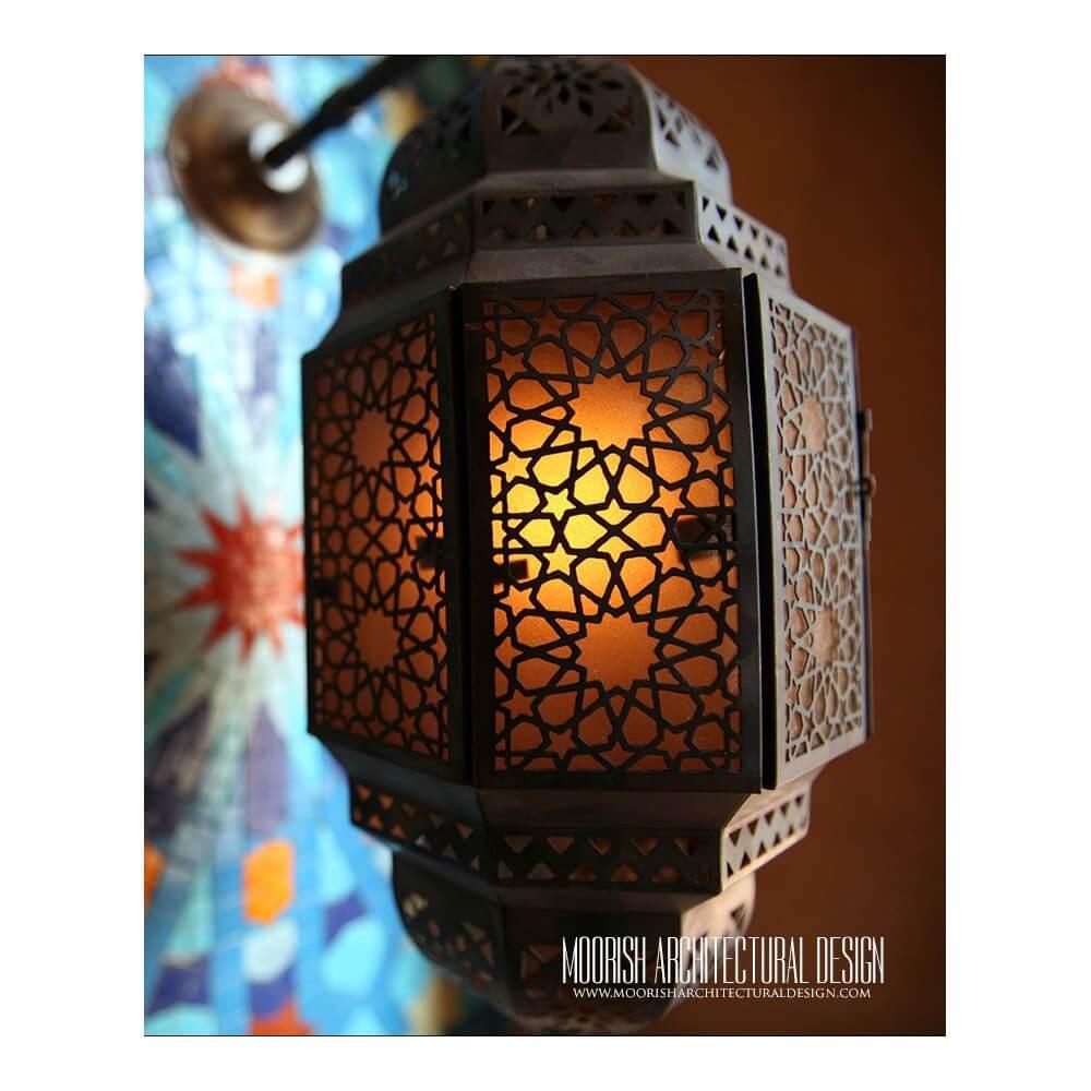 Moroccan lantern  Arabian Lighting