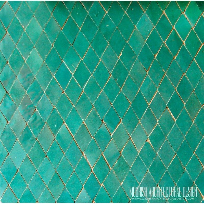 Green Moroccan Tile