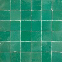 Green Moroccan Tile Miami - Green Zellige