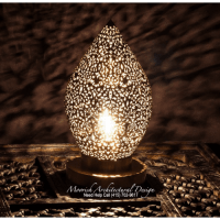 Modern Lamps | Moroccan Filigree Lamp | Luxury Hotel Lamps