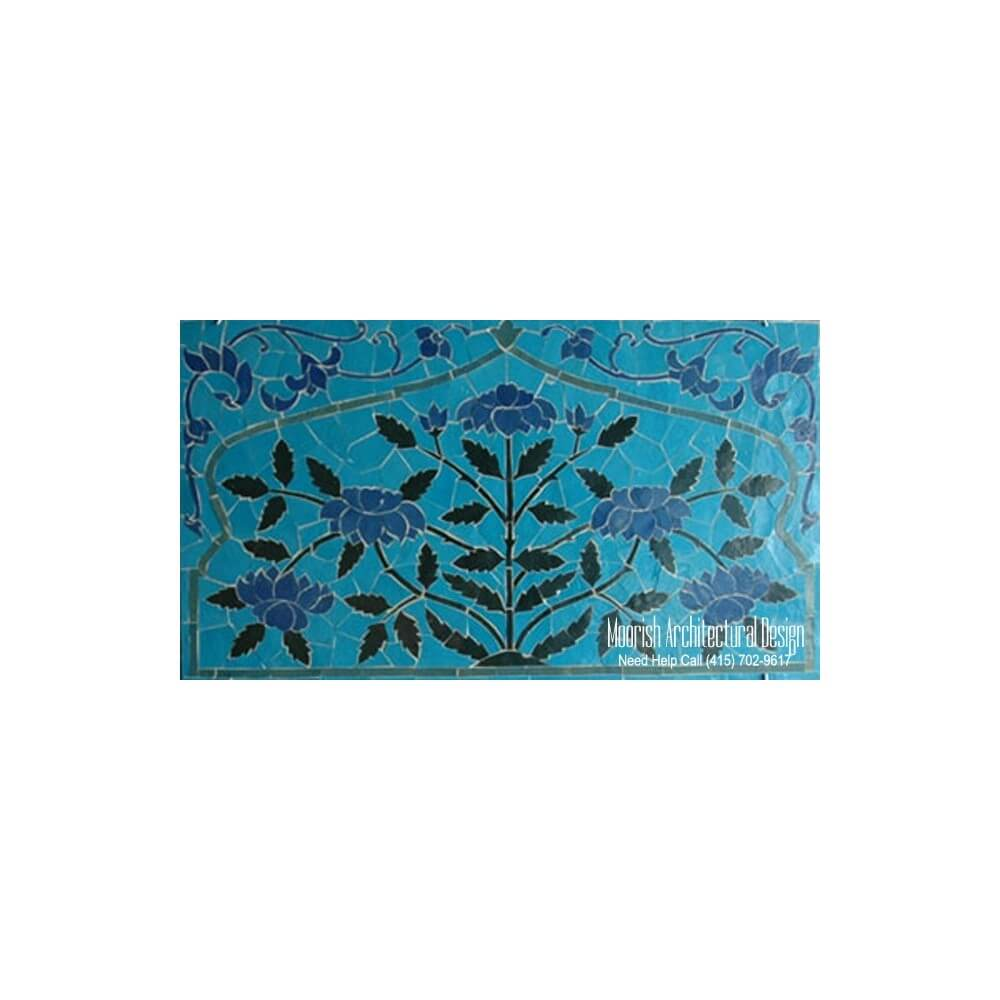 Bathroom Mosaic Tile Murals Design Ideas Moroccan Tile