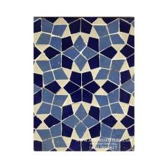 Blue Kitchen Cabinet Knobs Slide Out Moroccan Mosaic Tile | Moorish Pool Tiles