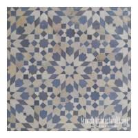 Moroccan Tile Fountain | Moroccan Mosaic Tiles | Moorish ...
