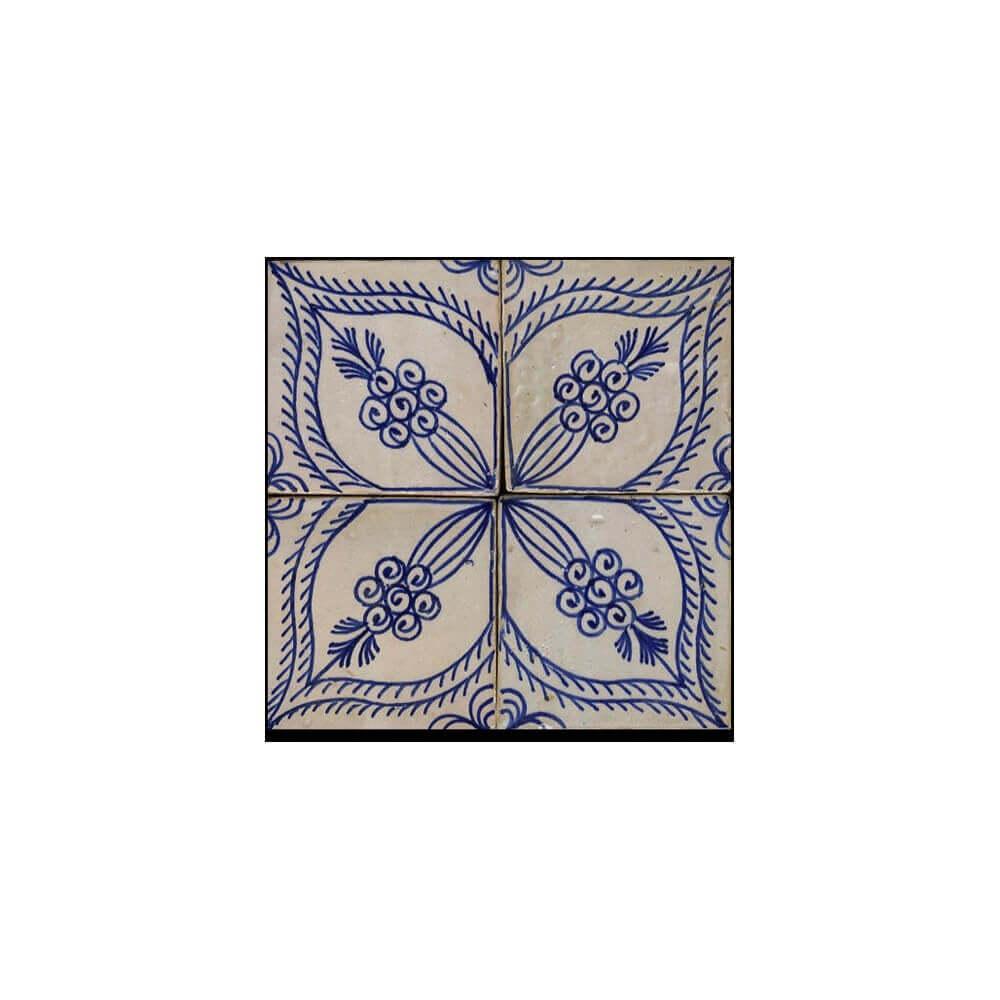 portuguese tile backsplash