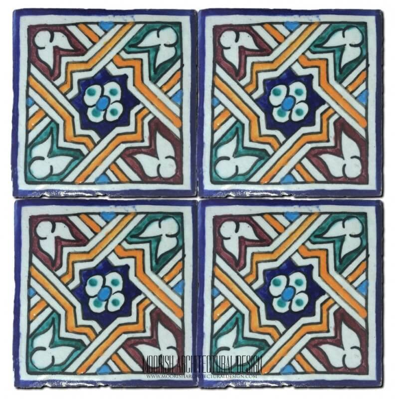 Hand Painted Tiles San Diego California