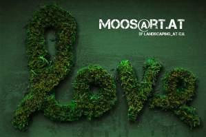 Moosgraffiti by moosart - Love